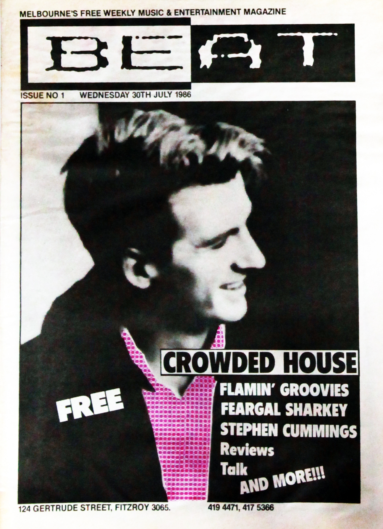 Incredible From The Archives Beats 1986 Interview With Crowded House Download Free Architecture Designs Terchretrmadebymaigaardcom