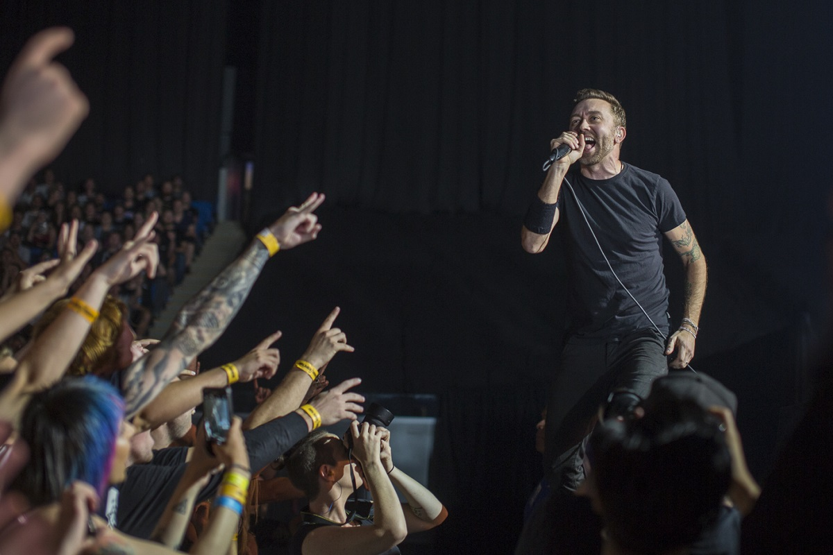 Rise Against are a band made to be experienced live