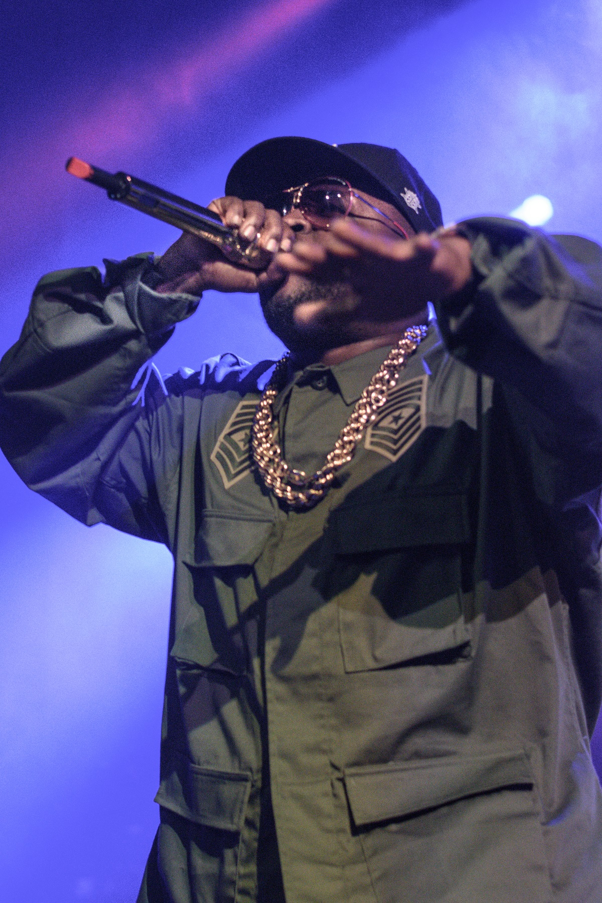 Big Boi brings the old school hype to a freshly picked set list
