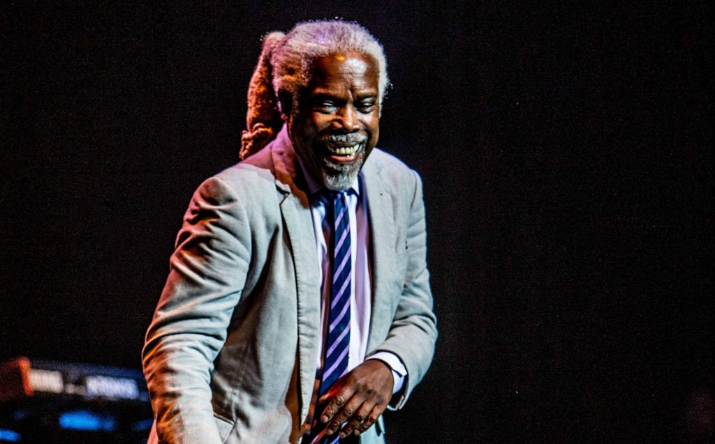 Billy Ocean flooded everyone back to the 1970s with a funk-filled masterpiece