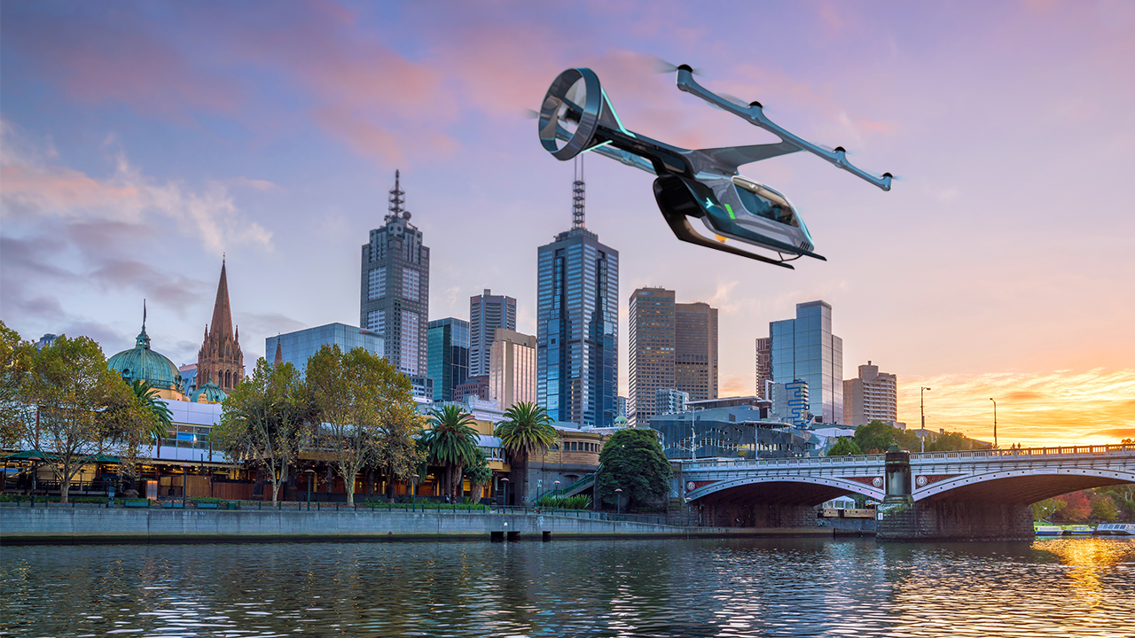 Melbourne to trial aerial rideshare service, Uber Air