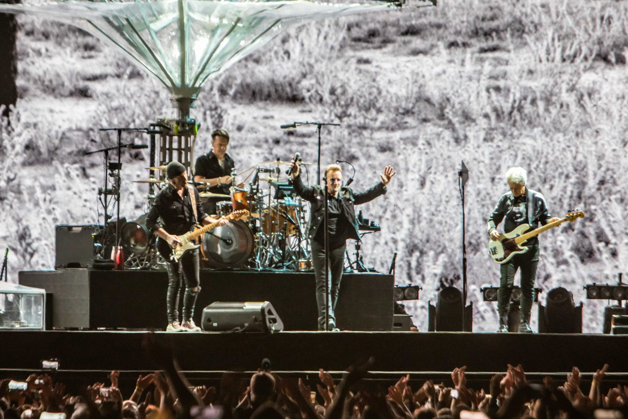 U2 celebrated 30 years of 'The Joshua Tree' with a spectacular performance